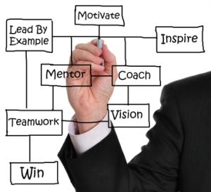 Mentor-illustrasjon
