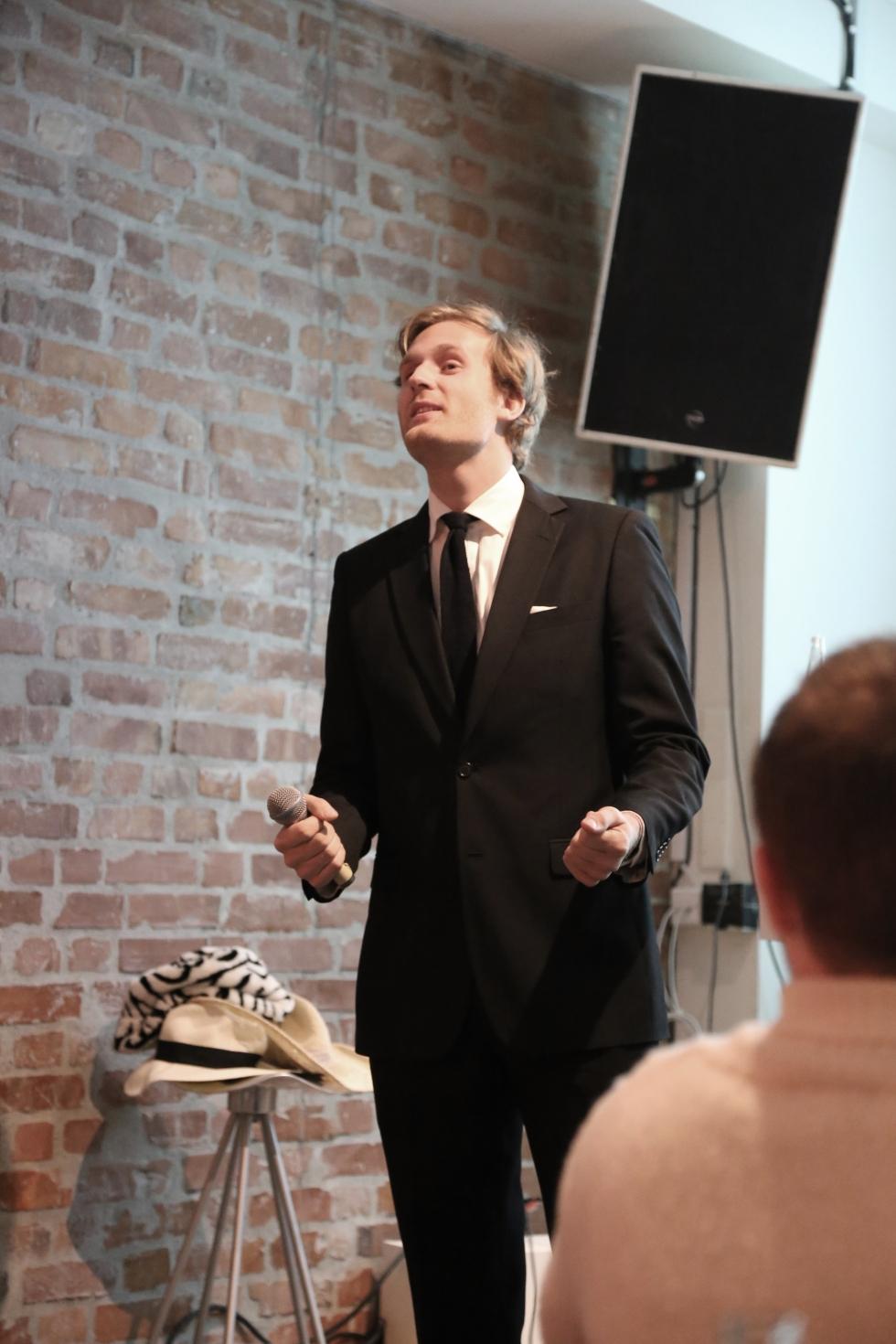 Mathias Storm Michelsen. Foto: Marie Hansen